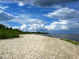 Natural beach - Baltic sea