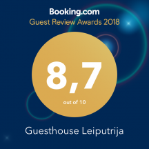 guesthouse-leiputrija-best-bookingcom-rating-awards
